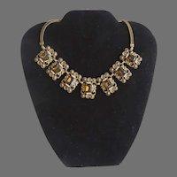 Vintage Necklace Stones Links