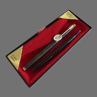 Parker Soft Tip 75 Vermeil 22K Gold over Sterling Silver Cisele Un-Used in Original Box