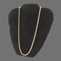Vintage Miriam Haskell Patented Box Chain