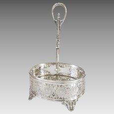 Fabulous English Silver Plate Cruet Stand Registered Mark