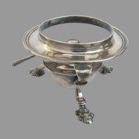 Vintage Silver Plate Tea Pot Burner