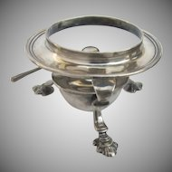Vintage Silver Plate Tea Pot Burner