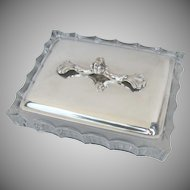 Vintage Webster Co. Silver Plate Covered Dish