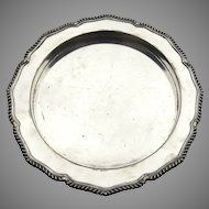 Vintage Harrison & Howson Sheffield Gallery Round Tray