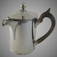 Old Sheffield Argyle Chocolate Pitcher Pot Angle Spout c1800
