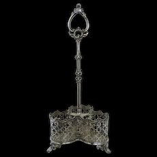 Silver Plated Large Wine Caddy c 1890