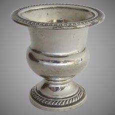 Sterling Silver Miniature Urn Holder