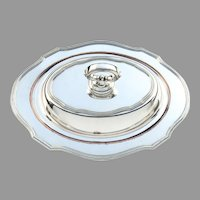 Vegetable Bowl in Chippendale Style Silverplate by Sheffield Silver Co