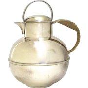 Vintage Bernard Rice & Sons Inc. 2213 Apollo E.P.N.S Tea Coffee Creamer Pot Jug Guernsey Milk Jug Shape