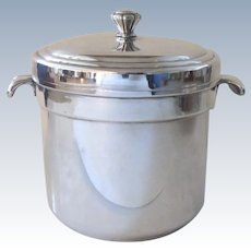 Vintage International Silver Co. Silver Plated Ice Bucket Barware