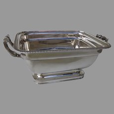 Classic Old Sheffield Plate Tureen with Side Handles