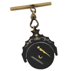 1900's Masonic Watch Fob Spinner Spins