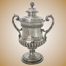 Waterloo Sterling Silver Trophy Cup Given to Colonel William Hunter 1815 MITCHELL & RUSSELL Edinburgh