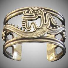 Vintage Sterling Pennino Bros. Cuff Bracelet