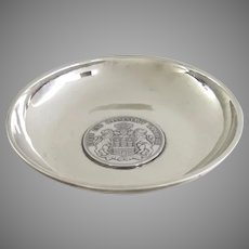 Hansestadt Hamburg Coin Set in Sterling Dish 925