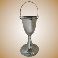 Vintage Silver Plate Floor Standing Wine Champagne Cooler Bucket by Art Krupp Berndoff