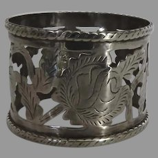 Vintage Sterling Silver 925 Made in Mexico Napkin Ring