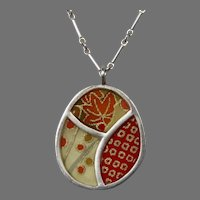 Sterling Silver Necklace Pendant by Susan Fleming