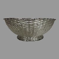 Christofle Silver Plate Wire Basket France French