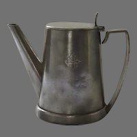 Vintage Individual Tea Coffee Pot for the Holland America NASM Line Ships