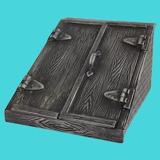 Vintage Derby S. P. Co. International Silver Plated Cellar Storm Door Box
