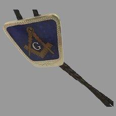 Vintage Masonic Bolo Tie Inlaid