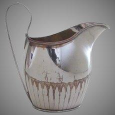English Old Sheffield Cream Pitcher c 1800