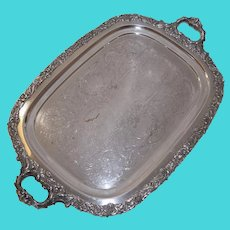 Continental Sheffield Silverplate Co. Brooklyn, New York Serving Tray