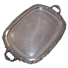 English Sheffield  Serving Tray