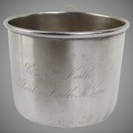 Silver Plated Baby's Cup by Derby Silver CO