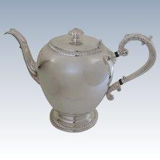 Vintage Coffee Pot Silver   Ruby Lane