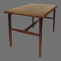 Vintage Mid Century 1960's Motif Inc. Walnut Side Table 6306 Minimalist