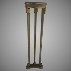 Narrow Demilune Table and Sconce