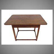 American Stretcher Base Pub Table.