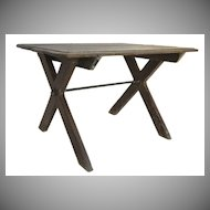 "Provincial ""X"" Leg Base Table"