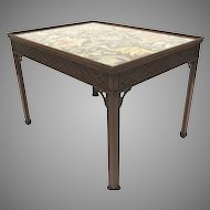 English Mahogany Chippendale Style coffee Table