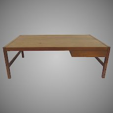 Mid Century Coffee Table with One Drawer