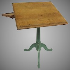Vintage Drafting Architects and Engineering Table by Weil & CO