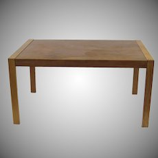 Gudme Danish Table Expandable One Leaf Teak Mid Century Dining Desk