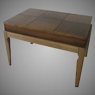 Drexel Mid Century Limed Legs Lift Top Coffee/ Side Table by John Van Koert for Drexel
