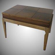 Drexel Mid Century Limed Legs Lift Top Coffee/ Side Table by John Van Koert for Drexel