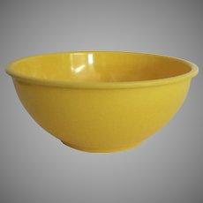 "Vintage Bright Yellow Melamine Mixing Bowl 7"" by Oggi"