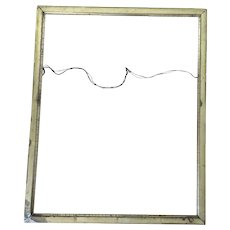 Thin Wooden Frame Paint Gold