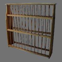 European Pine Plate Drying Rack