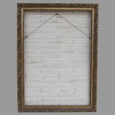 French Gilt Gesso Picture Frame