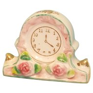 Mini China Clock, Perfect for Dollhouse or French Fashion Display