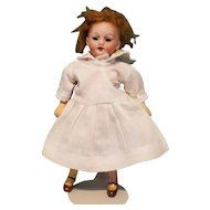 "Tiny 5"" Bisque-Headed German Doll"