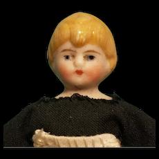 Bisque Head Dollhouse Maid