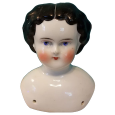 Antique German China Head