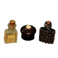 Vintage Set of Perfumes for Doll Display